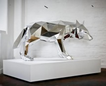 Animal Sculptures Mirror, par Arran Gregory
