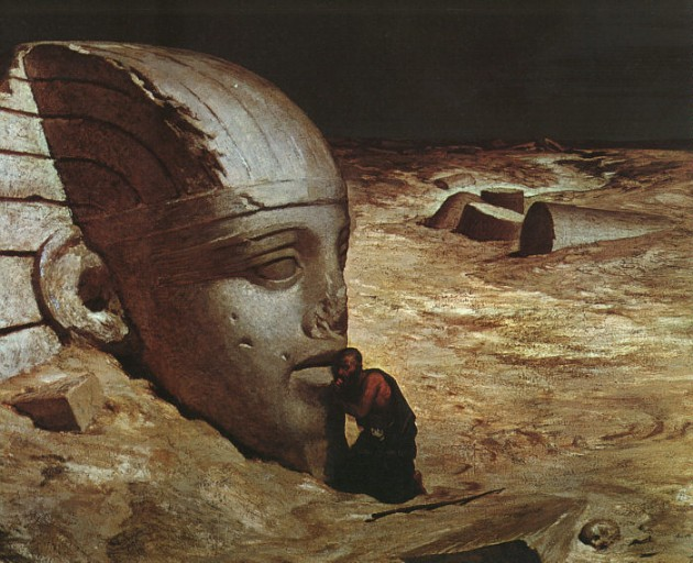 L'interrogation du Sphinx, par Elihu Vedder