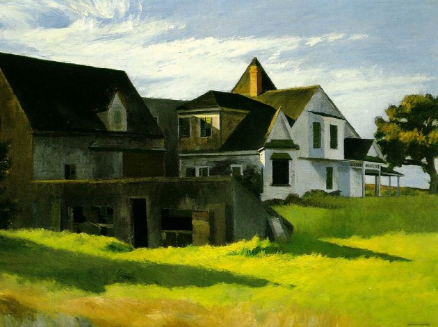 Cape Cod Afternoon, par Edward Hopper