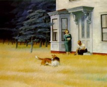 Cape Cod Evening, par Edward Hopper
