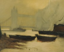 Tower Bridge, Londres, par Henri Jourdain