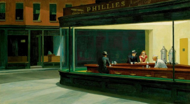 Nighthawks, par Edward Hopper