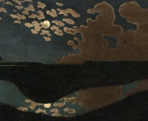 Clair de lune, par Félix Vallotton